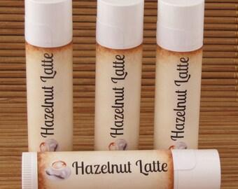 Hazelnut Latte Flavored Lip Balm - Handmade All Natural Lip Balm