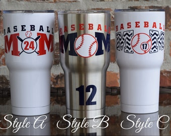 Baseball Mom / Baseball Decal / SIC Decal / Yeti Decal