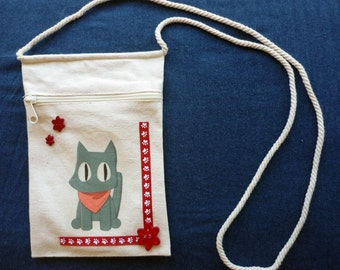 Nichijou - Sakamoto - Canvas Bag/Purse