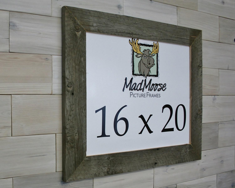 16x20 barn wood thin x 3 picture frame tags barn wood frame barnwood frame weathered wood. Black Bedroom Furniture Sets. Home Design Ideas