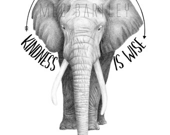 Be Kind - Art Print (A4)