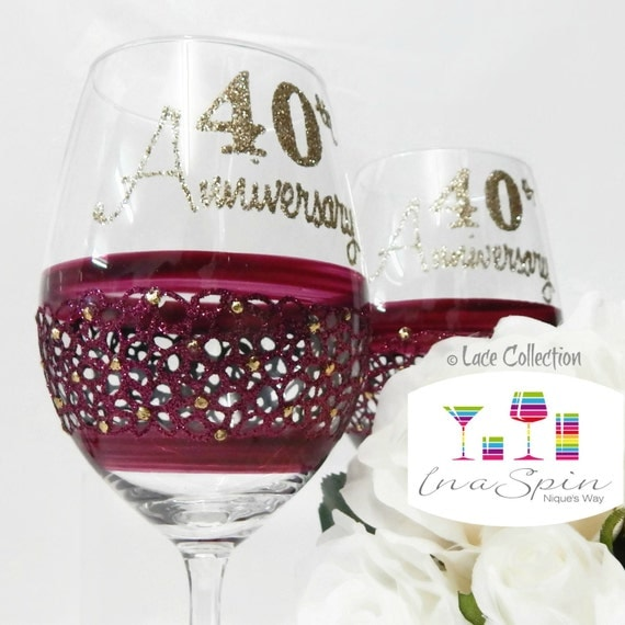 Wedding Gift Bags For Parents : Gift For Parents Wedding Anniversary Gifts Ruby Anniversary Gifts 40th ...