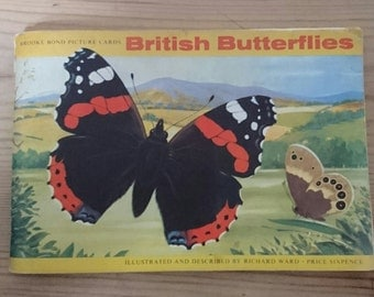 Vintage brooke bond tea British butterflies album