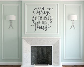 Christian Wall Decal Family Wall Decal Bible Verse Wall - Vinyl wall decals bible verses