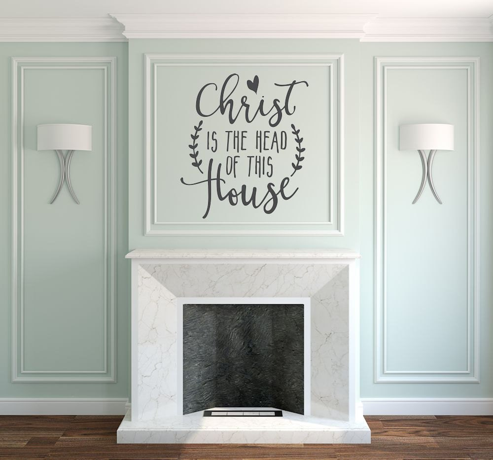christian wall art wall decal christian by amandasdesigndecals. Black Bedroom Furniture Sets. Home Design Ideas