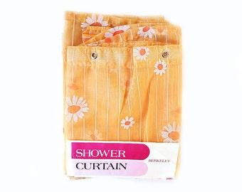 Mod Daisy Shower Curtain