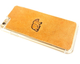 Leather iPhone 6s Case / iPhone 6 Case - Bear