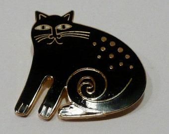 Vintage Laurel Burch Cat Brooch