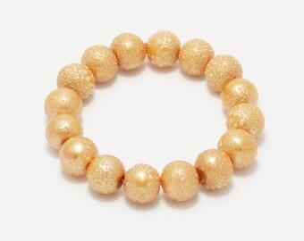 Сoworker gift wife gift Stacking bracelet stretch bracelet pearl bracelet fashion accessory beads bracelet beaded bracelet healing bracelet