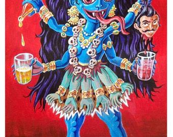 Kali -- 8.5x11 Art Print