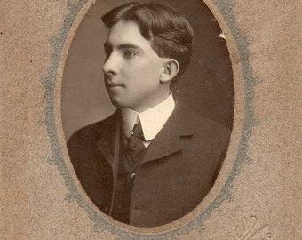 Antique Photo of Cute Gentleman