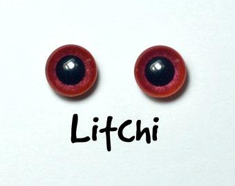Eyechips 13 mm - Coloris Litchi  Taille Pullip Modèles Récents