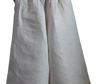 Hemp 100% Wide Leg Pants (PRL-009-02)