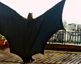 Batman cape with wings, coat batman costume