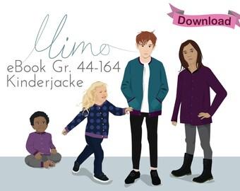 """PDF Pattern eBook """"Mimo"""" Jacke für Babys und Kinder"""
