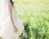 Custom Silk Tulle Veil for Madeleine