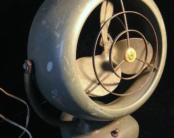 Vintage 1950s Vornado 2 Speed Electric Fan B20C1 Retro Industrial Art Deco