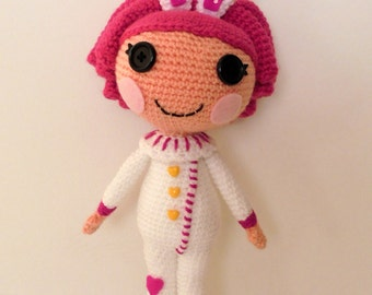 Crochet PATTERN Lalaloopsy Cotton amigurumi doll