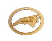 North Carolina Ornament - North Carolina State Ornament - North Carolina Gift - North Carolina Souvenir - NC Ornament - Personalized Free