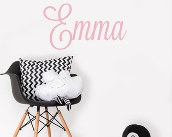 Girls Name Decal - Name Wall Decal - Girls Room Wall Decal - Girls Bedroom Decor - Personalized Name Decal - Girls Bedroom