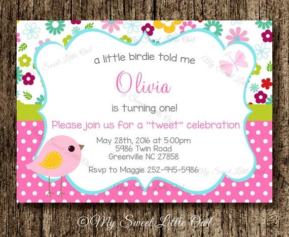 Bird invitation bird baby shower invitation bird invite bird il570xn filmwisefo