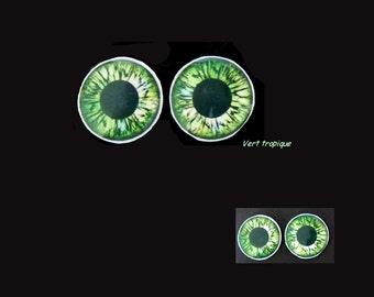 Eyechips Blythe in epoxy - 14mm