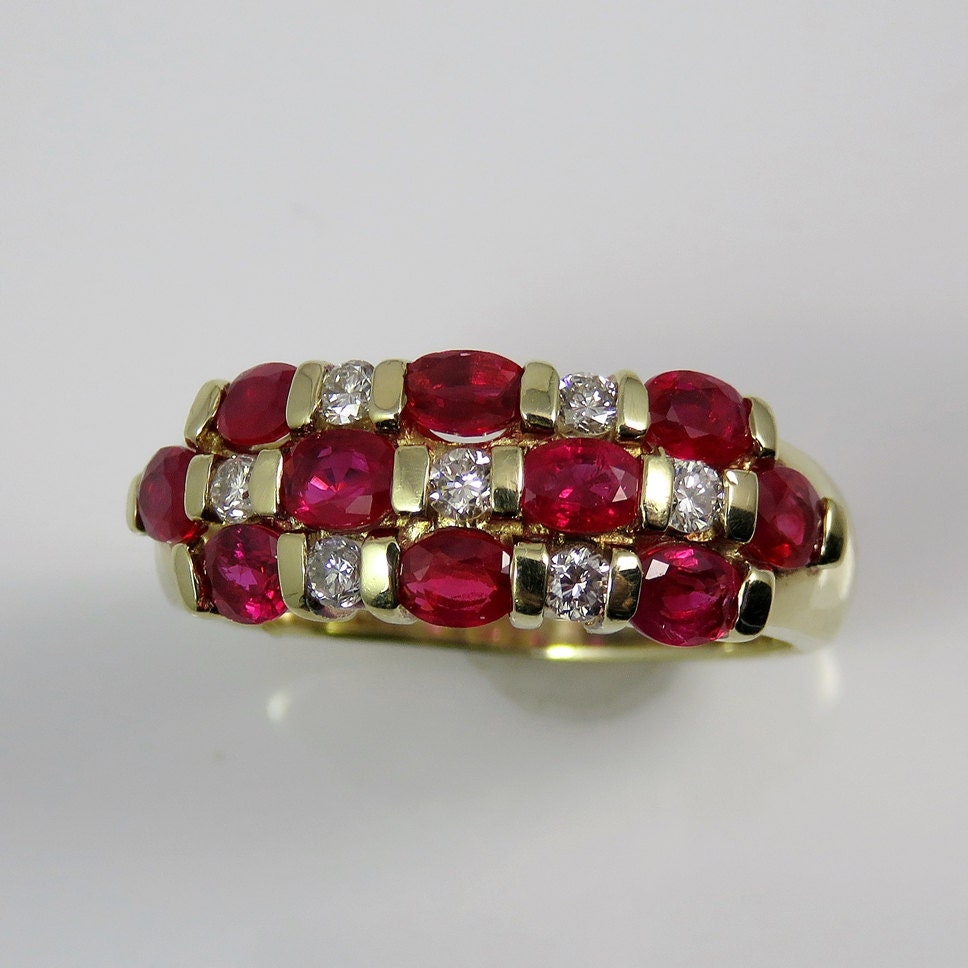 ruby ring ruby band wedding band ruby wedding