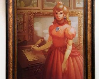 "16""x20"" Princess Peach - Easy to Frame"