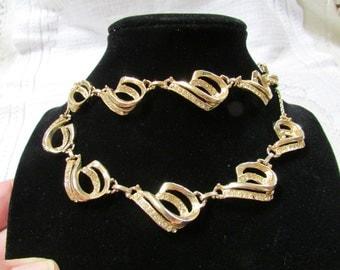 Vintage  rhinestone choker necklace and bracelet  set demi parure estate find wedding bridal prom