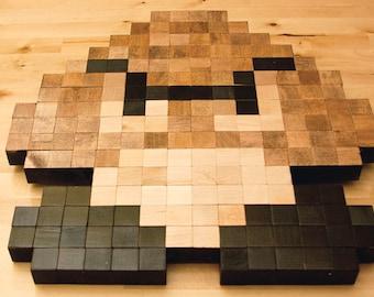 8-bit Goobma wall art
