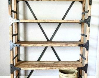Solid Alder Farmhouse Shelf