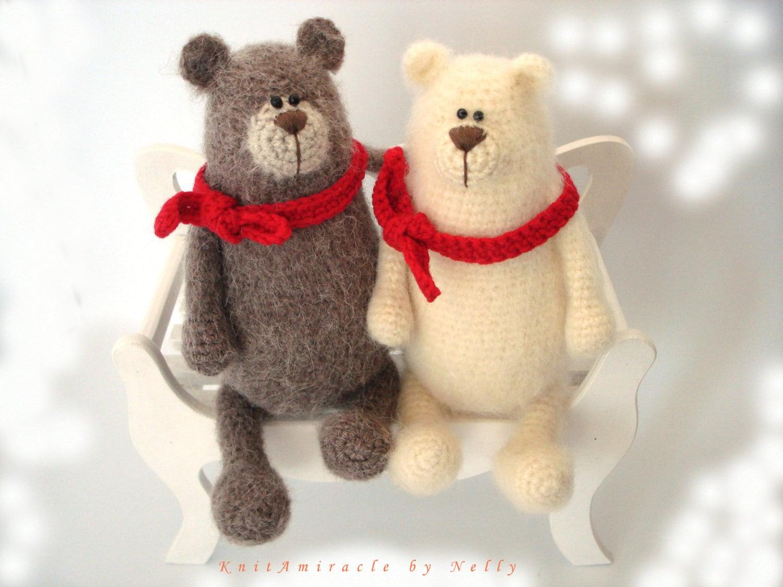 Amigurumi Toys Pattern : Crochet toy pattern / crochet bear pattern / amigurumi pattern