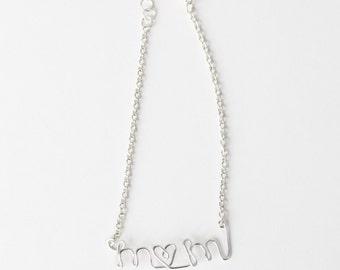 Mom Bracelet (Silver)