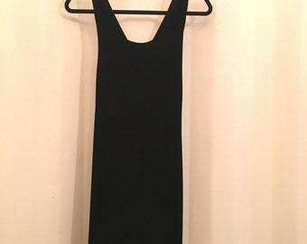 Velvet Crossback Ann Taylor Mini Dress