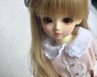 bjd doll outfit girl - Autumn - Pink for YOSD RL tuesday AI 1/6BB
