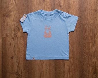 Baby panda detail t-shirt