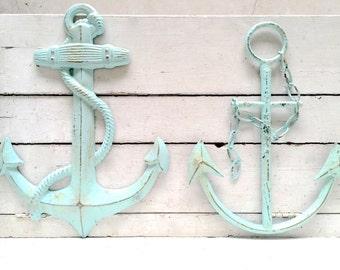 Anchor Wall Art anchor decor office decor beach decor anchor wall art