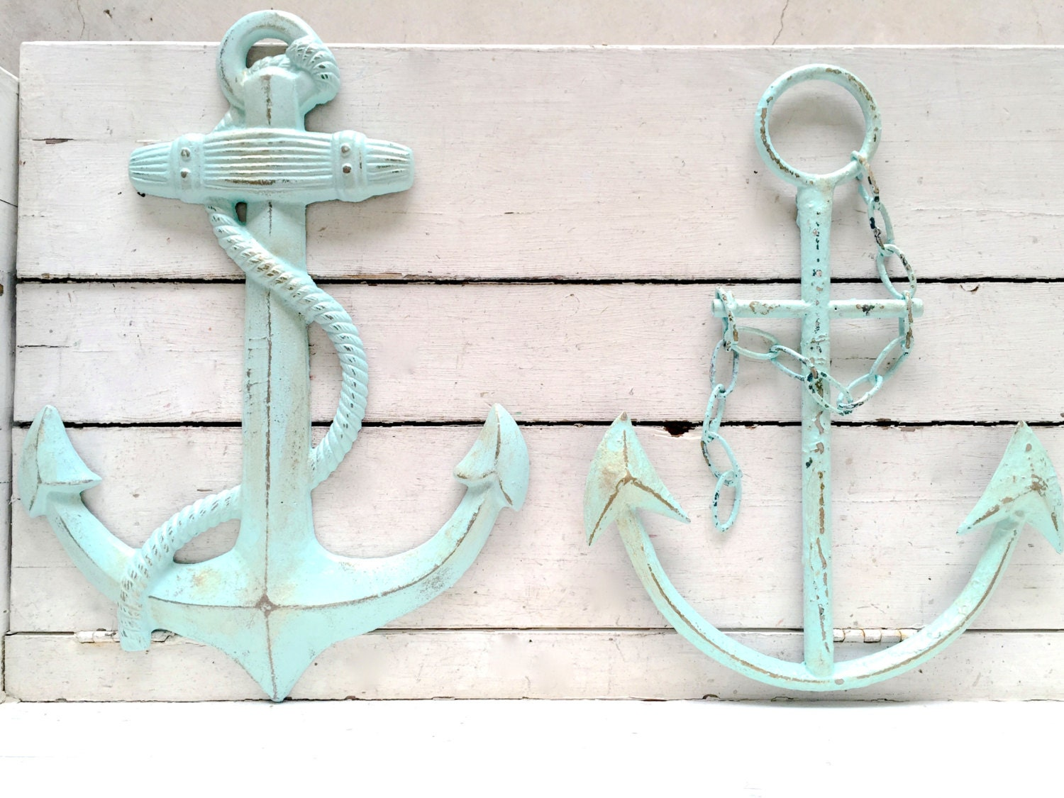 Coastal Wall Decor: Anchor Decor Nautical Decor Anchor Wall Art Nautical
