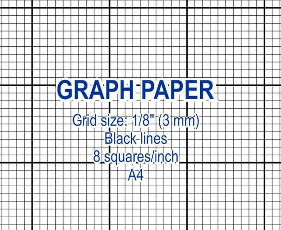 Digital Graph Paper Tutorial How To Make Ledger Paper Notebook