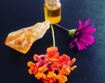 Libra. natural perfume of the zodiac. melissa, lavender, peru balsam, frankincense, mandarin. handmade, organic floral-amber fragrance.