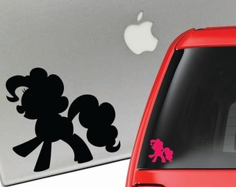 Pinkie Pie My Little Pony Friendship is Magic Vinyl Decal for Laptop or Car