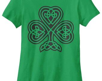 Celtic Shamrock Women's T-shirt