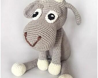Goat Crochet pattern PDF file in Dutch, Deutsch (German) or English