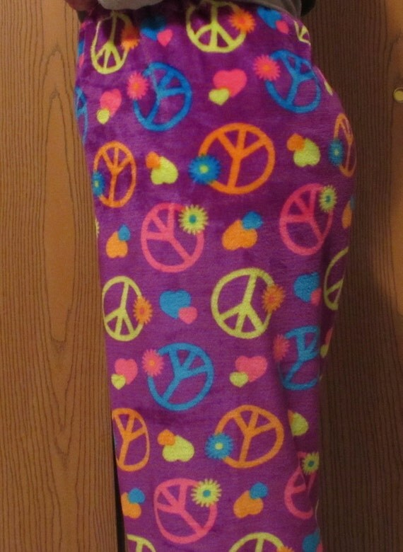 Womens pajama pants / mommy and me pajamas/plush pajamas/girls pajamas/owls/skulls/fox/hot pink/black/peace/butterfly/sizes 1t to xxl women