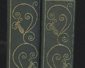 George Moore, A Story Tellers Holiday, 1st limited signed Edition 1928, two volumes, Folklore, Mythology, Horace Liveright NY, Vintage Book