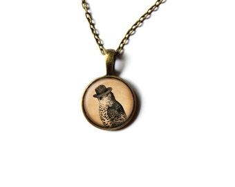 Falcon jewelry Bird pendant Animal necklace NWR117