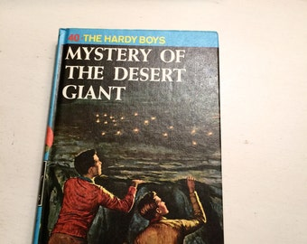 Vintage The Hardy Boys The Mystery of the Desert Giant Franklin W Dixon
