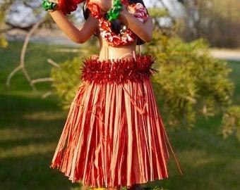 Hula Girl; Resin Figurine; Sways; Vintage Hawaii !!!