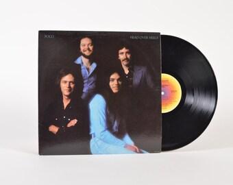 """POCO - """"Head Over Heels"""" vinyl record"""