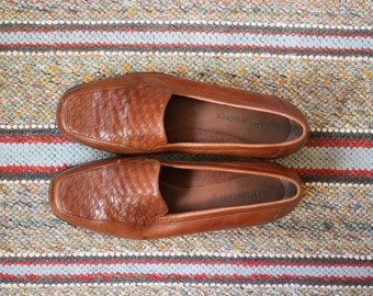 Vintage Leather Penny Loafers